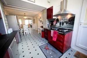 House in Normandy, France on the Cherbourg Peninsula at 26 Place de l'Église, 50480 Sainte-Marie-du-Mont, France for Sleeps 5
