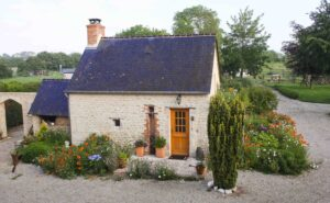 Cottage in Normandy, France on the Cherbourg Peninsula at Ferme de l'Eglise, 50480 Sainte-Marie-du-Mont, France for Sleeps 2